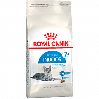 ROYAL CANIN INDOOR 7+ 400 г корм для пожилых кошек с 7 лет постоянно проживающих в помещении 1х12