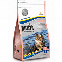 BOZITA Large Wheat Free 31/18 сух.корм без пшеницы д/кошек крупных пород с Лососем 400гр